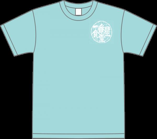 Tシャツ半袖(レディース・Mサイズ)Pale Blue