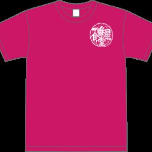 Tシャツ半袖(メンズ)HOT PINK